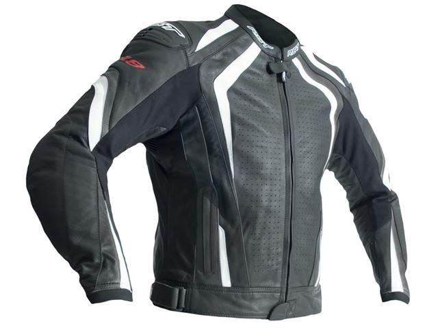 RST R-18 Leather Jacket L