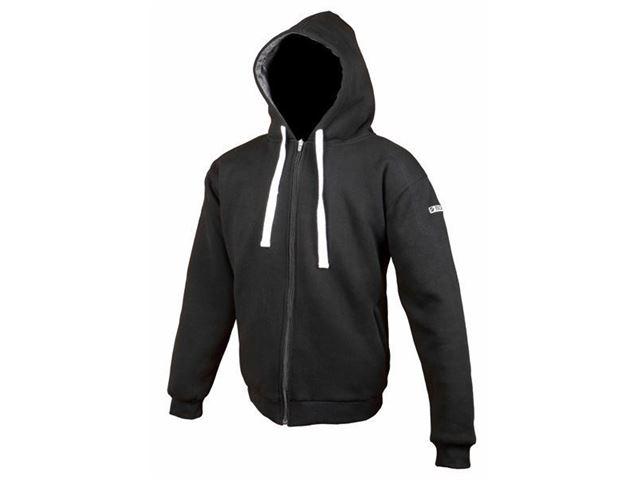 Core hoodie black - L