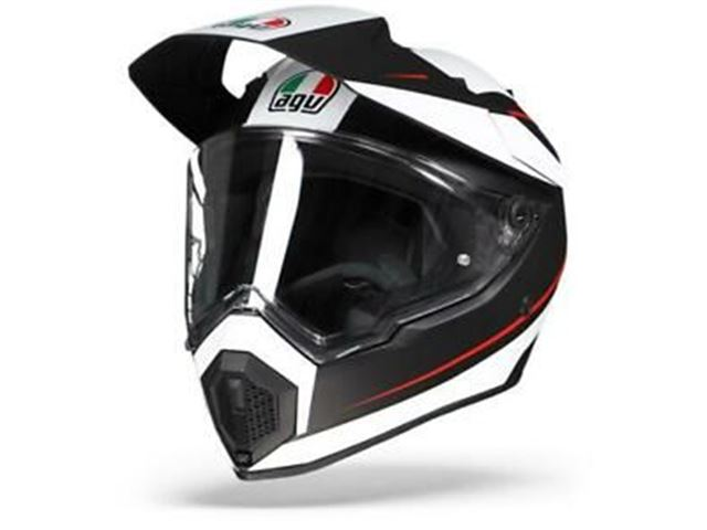AGV AX9 XL Pacific Road Mat Black/White/Red