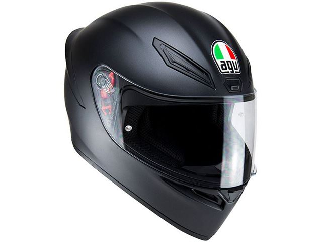AGV K-1 Matt Black XS