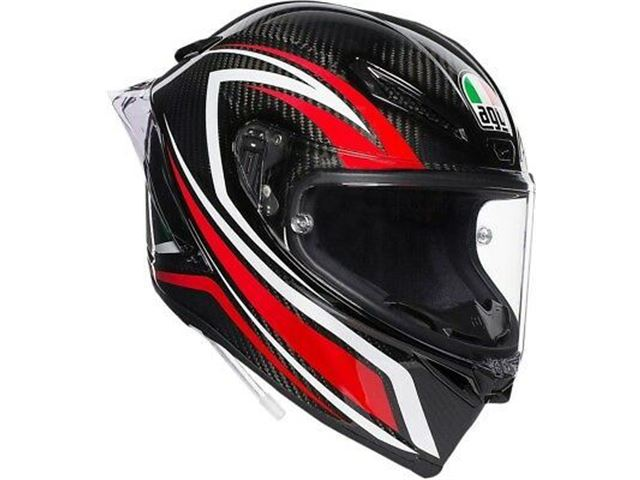 Agv Pista Gp R Helmet Staccata Carbon/Redsize ML