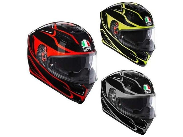 Agv K-5 S Magnitude Blk-Red