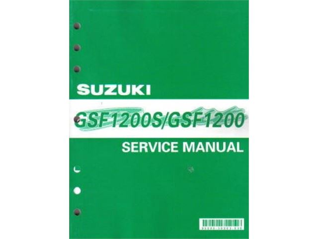 GSF1200/S Service Manual