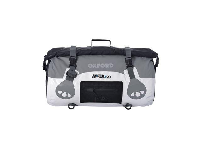 AQUA T-20 ROLL BAG - WHITE/GREY