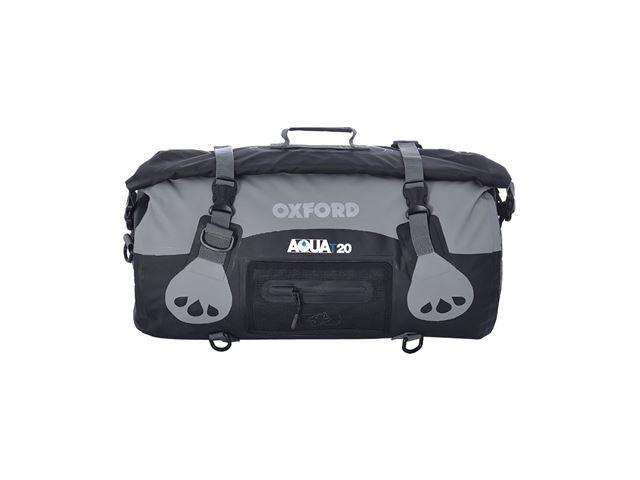 AQUA T-20 ROLL BAG - BLACK/GREY