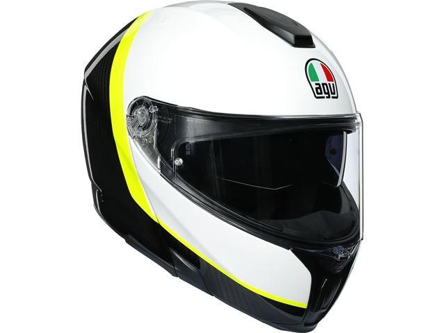 AGV Sport Modular Carbon/White/Yellow XXS