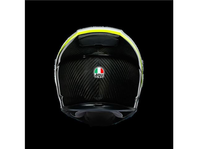 AGV Sport Modular Carbon/White/Yellow XS