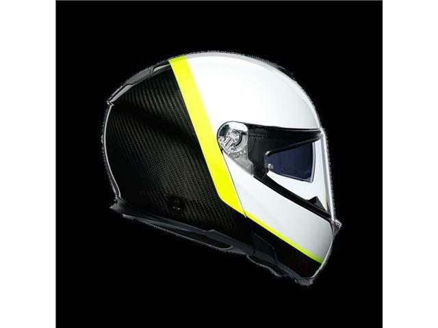 AGV Sport Modular Carbon/White/Yellow S