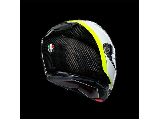 AGV Sport Modular Carbon/White/Yellow XXXL