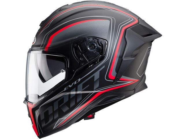 DRIFT EVO INTEGRA matt blk/grey/red SIZE 54
