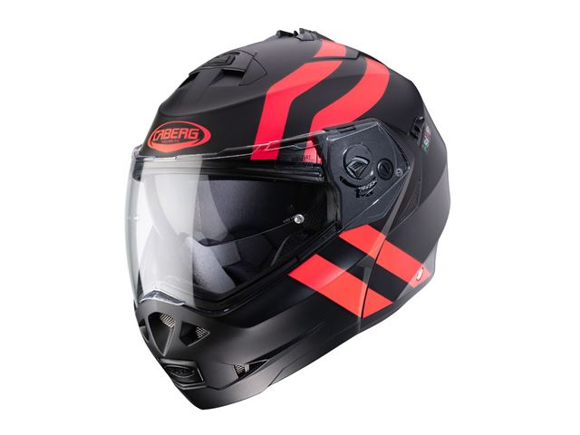 Caberg DUKE II SUPERLEGEND matt black/red size 54