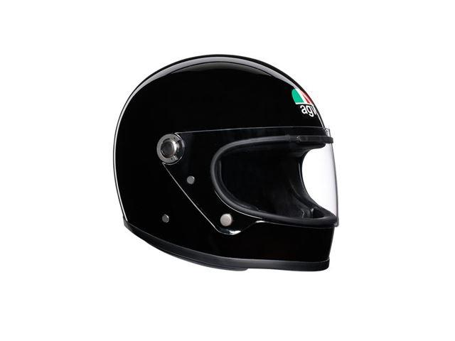 AGV X3000 Solid Black L