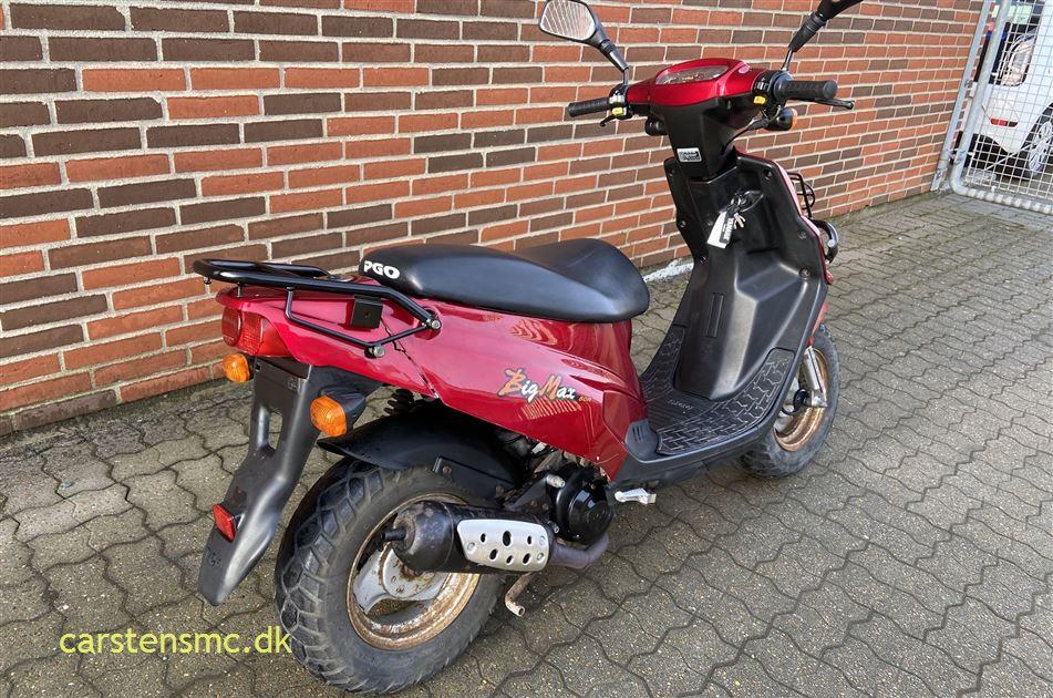 PGO Big Max 50 Scooter 45 km/t