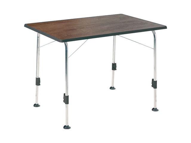 Campingbord Stabilic 3. 115 x 70 cm. Farve: gråbrun.