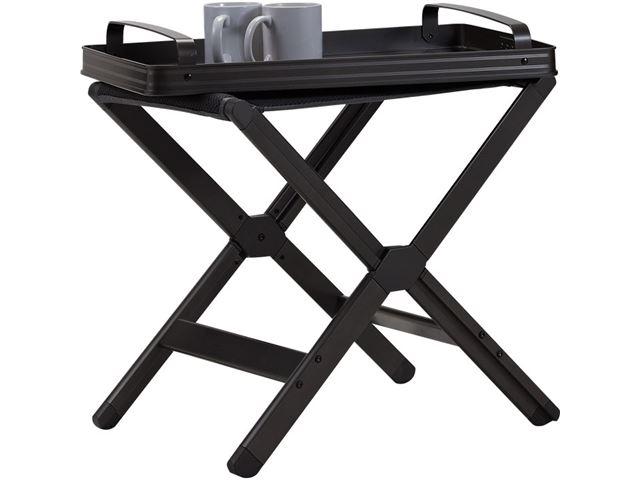 Westfield klapstol og klapbord i én, Avantgarde-serie. Dynamic/grå.