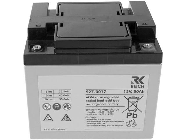 Reich strømforsyningssæt bestående af lader + batteri CPC.