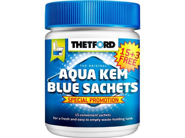 Thetford Aqua Kem Sachets til bundtanken - promotion
