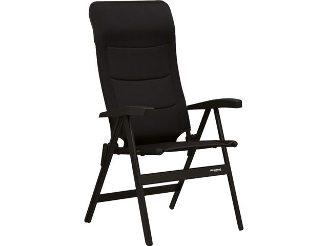 Westfield høj stol, Avantgarde-serie. Noblesse Deluxe Blackline. Sort.