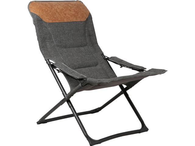 Westfield hvilestol, Vintage-serien. Emma/grå, brun.