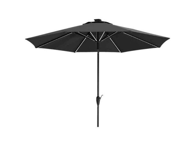 Parasol Blacklight med LED-lys Ø180 cm.