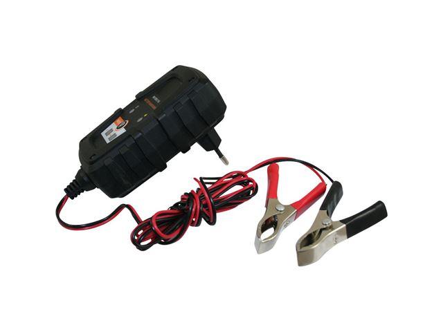 Batterilader, elektronisk 6/12V 1A.