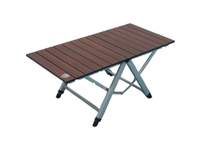 Campingbord One Action. 81 x 40 cm. Farve: brun.