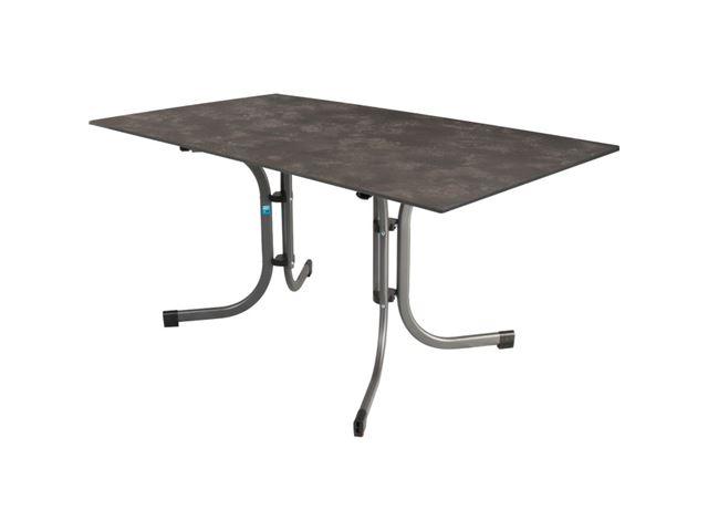 Bord med HPL plade. 160 x 90 cm. Farve: antracit.
