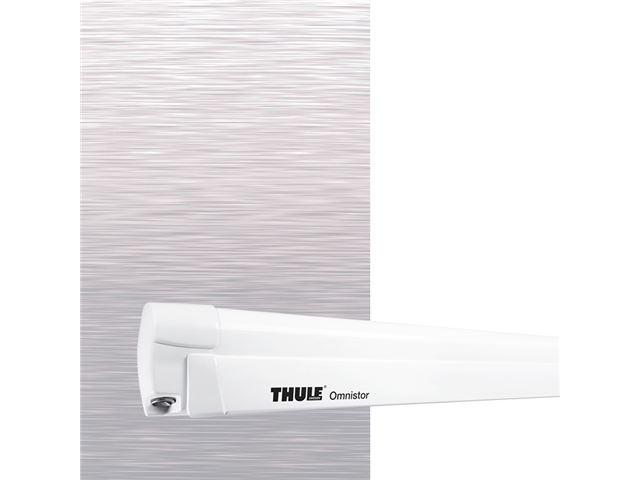 Thule Omnistor markise 8000 L 4,5 m. Mystic grey, hvid boks