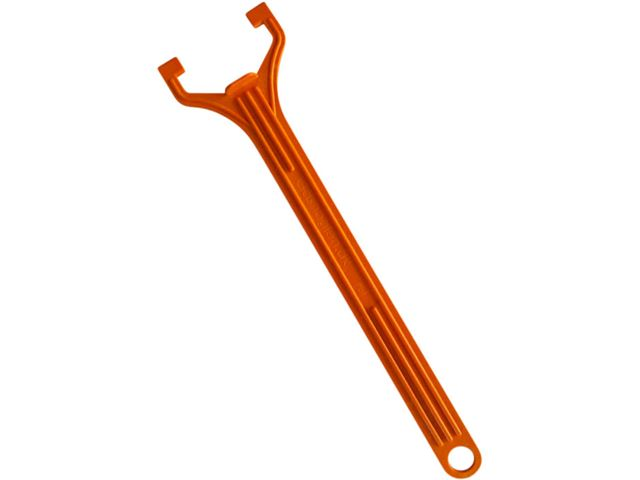 Gasnøgle til af- og påmontering af gasregulator