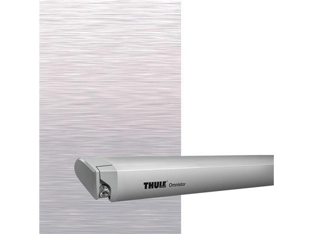 Thule Omnistor markise 6300 L 4,50 m. Mystic grey, grå boks.
