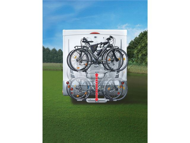 Prostor cykelholder, 2 cykler, 12 V.
