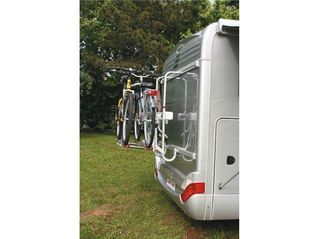 Fiamma Carry-Bike lift 77, rød til 2 (4) cykler - kan nedsænkes