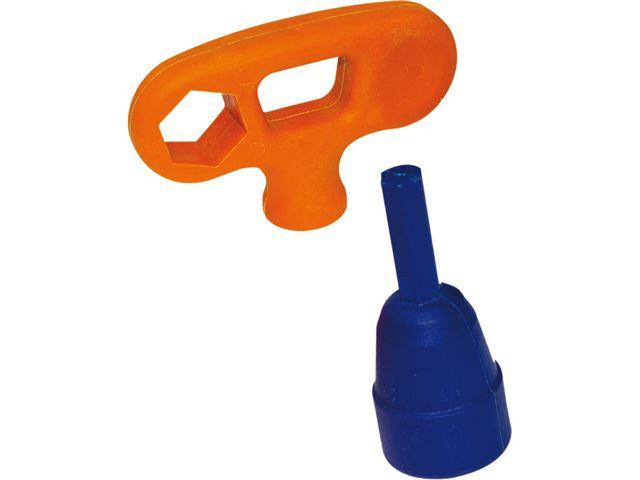 Peggy Peg adapter og håndnøgle