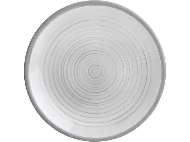 Bellagio flad tallerken, Ø26 cm.