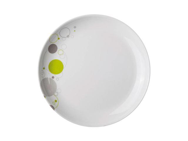 Space tallerken - med antislip
