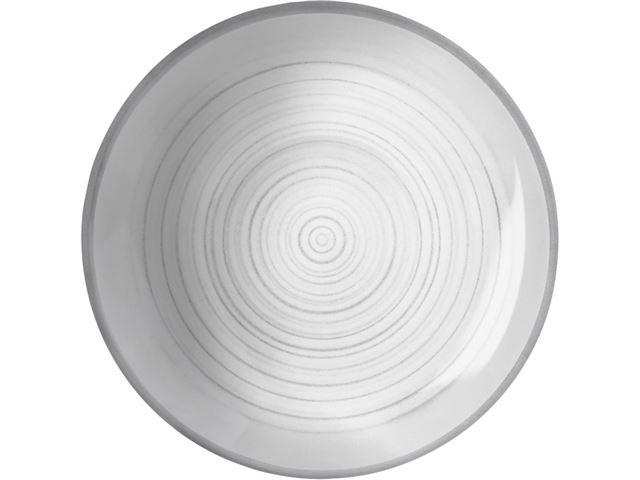 Bellagio dyb tallerken, Ø21 cm - med antislip