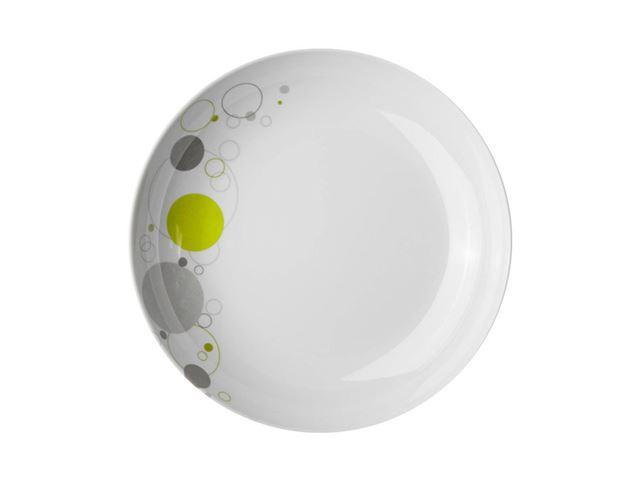 Space dyb tallerken - med antislip