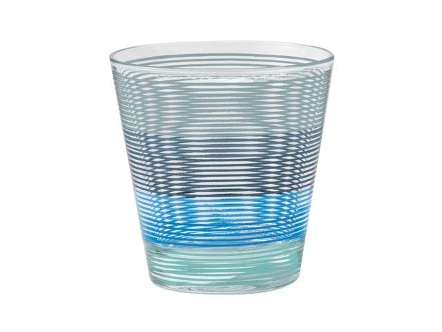 Blå Spectrum glas