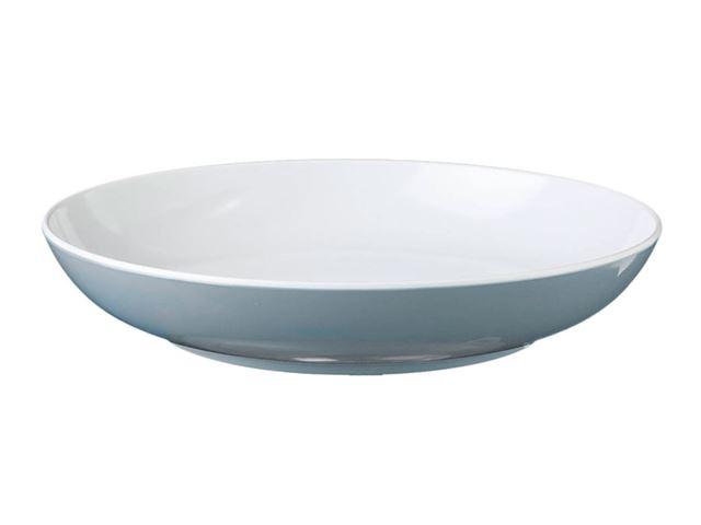 Blå Spectrum dyb tallerken, grå