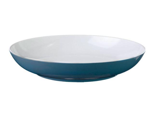 Blå Spectrum dyb tallerken, mørkeblå