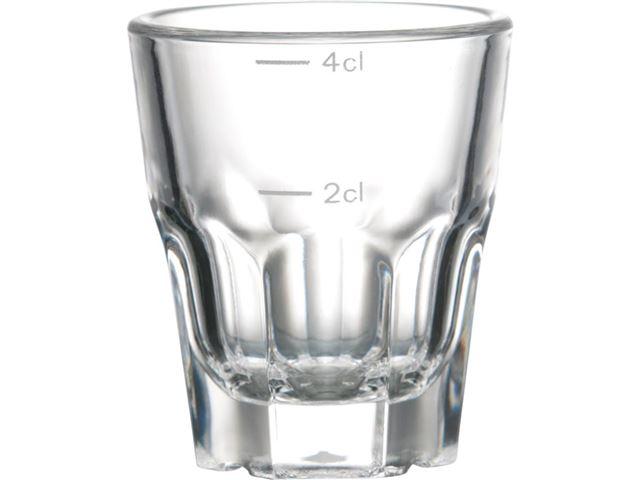 Granity snapseglas, 4 cl. 1 stk.