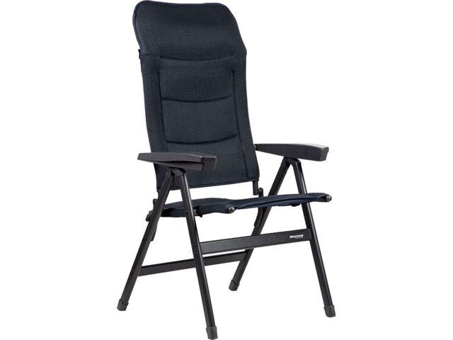Westfield høj stol, Performance-serien. Advancer compact/mørkblå.