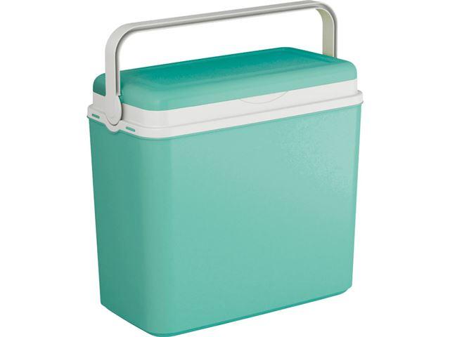 Køleboks turkis, 24 liter