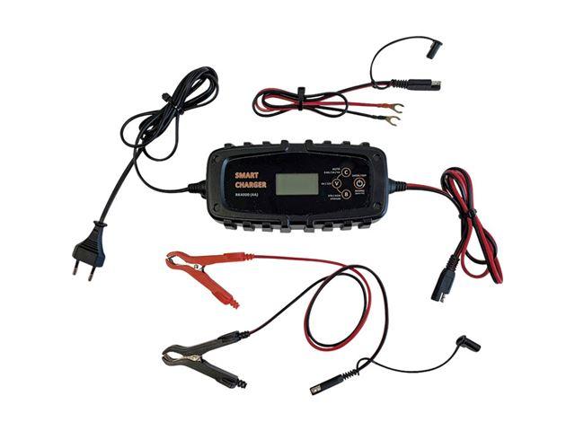 Batterilader 12V, 4A