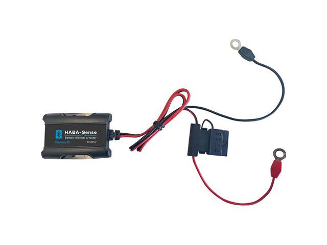Batteri monitor med Bluetooth