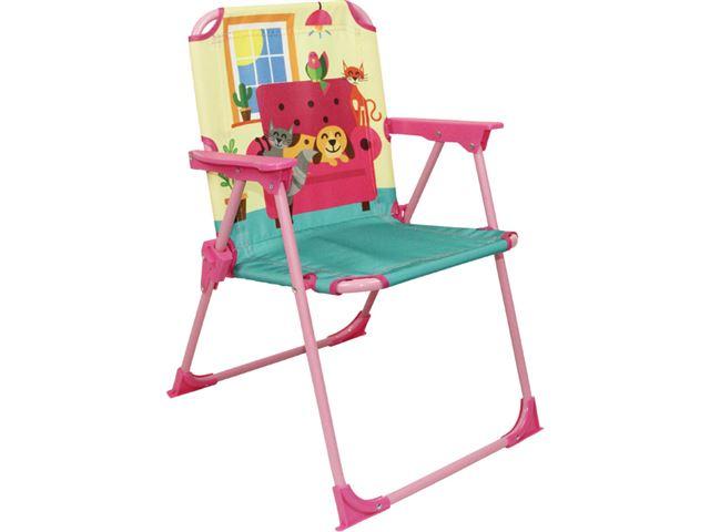 Børnestol med sødt motiv.