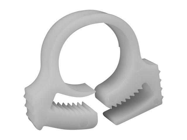 Spændebånd plast til armeret 10 mm slange, 15-17 mm