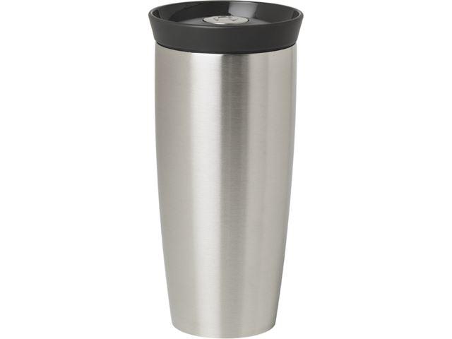 Rosendahl termokrus, 40 cl. Silikonlåg i grå.