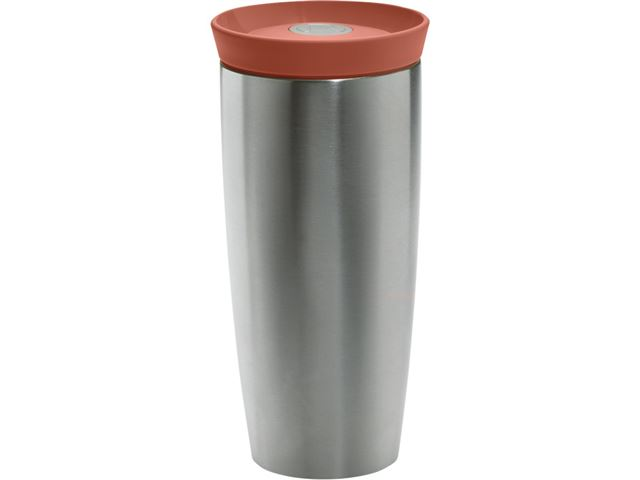 Rosendahl termokrus, 40 cl. Silikonlåg i Terracotta.