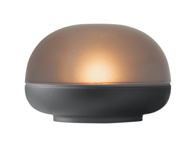 Rosendahl Soft Spot LED, Ø9 cm. Smoke.